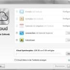 Neben E-Mails lassen sich auch Kontakte und Kalenderdaten via Outlook abgleichen. (Bild: Screenshot)
