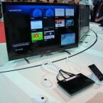 Zum ersten Mal zeigte Sony seinen Internet-Player auf der CES in Las Vegas. Auf der IFA konnte netzwelt das Gerät einem Kurztest unterziehen. (Bild: netzwelt)