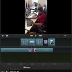 Videoschnitt-Anfänger können mit der kostenlosen iMovie-Alternative ausprobieren, ob ihnen die Bearbeitung auf dem iPad Spaß macht. (Bild: Screenshot Pinnacle Studio)