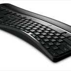 Die neue ergonomische Tastatur von Microsoft soll ermüdungsfreies Schreiben ermöglichen. (Bild: Microsoft)