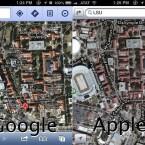 Konkurrent Google Maps hat hier im Vergleich noch die Nase vorn. (Bild: theamazingios6maps.tumblr.com)