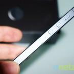 Trotz stärkerem Prozessor und jeder Menge weiterer technischer Neuerungen ist das iPhone 5 dünner als der Vorgänger. (Bild: netzwelt)
