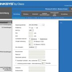 Die Steuerung der Web-GUI erfolgt über horizontale und vertikale Navigationsmenüs. Die Hilfsfunktionen sind am Rand platziert. (Bild: Screenshot)