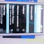 Auch die Funktion Smart Stay bietet die Mini-Variante. Sie schaltet das Display erst ab, wenn der Nutzer nicht mehr draufschaut. (Bild: netzwelt)