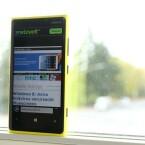 Mit dem Lumia 920 liefert Nokia endlich mal wieder ein konkurrenzfähiges Smartphone ab. (Bild: netzwelt)