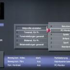Keiner ist perfekt: Wie vielen anderen Fernsehern, muss man auch dem Caleo 47 LED 200 Media Twin R in puncto Bildqualität auf die Sprünge helfen. (Bild: netzwelt)