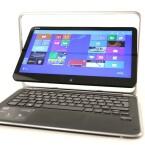<b>Dell XPS 12</b><br /> Dreh und Klick: Die Besonderheit am Dell XPS 12 ist sein im Rahmen drehbares, 12,5 Zoll großes Touch-Display. (Bild: netzwelt)