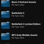 Nur lokal kann man via HipPlay auf USB-Medien zugreifen. (Bild: Screenshot)