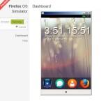 Der Startbildschirm ähnelt Googles Android. Widgets gibt es jedoch nicht... (Bild: Screenshot Firefox OS Simulator)