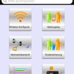 Zur Administration des Routers stellt Netgear die iOS- und Android-App Genie kostenlos zur Verfügung. (Bild: Screenshot)