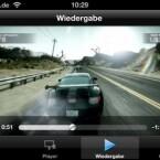 Videos und andere Dateien speilt die App flüssig ab - entsprechender WLAN-Durchsatz vorausgesetzt. (Bild: Screenshot)