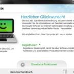 Dem Router liegt eine CD mit einer Installationssoftware bei. (Bild: Screenshot)