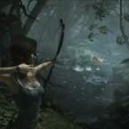 Hier wirds rührselig: Lara erlegt das Wild mit dem Bogen - und entschuldigt sich, ein Leben genommen zu haben. (Bild: Square Enix)