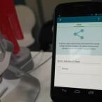 Vom Smartphone oder Tablet wird der Druckvorgang per App eingeleitet. Drucker, die per WLAN erreicht werden können, zeigt das Miniprogramm an. (Bild: netzwelt)