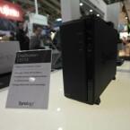 Auch neu von Synology: Die DS113 hat Platz für eine Festplatte. Das Modell erscheint im Herbst. (Bild: netzwelt)