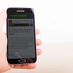 Das Galaxy S5 wurde Ende Februar 2014 auf dem MWC in Barcelona enthüllt. Seit April 2014 ist es im Handel erhältlich. (Bild: netzwelt)