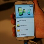 Über Share Music lassen sich acht Galaxy S4 zu einer 5.1-Anlage kombinieren. (Bild: netzwelt)