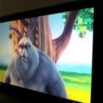 Die Videowiedergabe erfolgte auch bei Full HD-Videos ruckelfrei. (Bild: Screenshot)