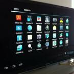 Über den Launcher vom Startbildschirm erhält man eine Übersicht über installierte Apps und startet diese. (Bild: Screenshot)