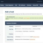Haben Sie bei der Anmeldung bei Ihrem DynDNS-Dienst noch keinen Host definiert, können Sie dies auch später vornehmen. Als Beispiel im Bild: das Konfigurationsmenü von No-IP.com. (Bild: Screenshot)