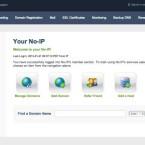 Kostenlos können Sie einen Hostnamen bei No-IP.com und selfhost.de einrichten. Im Bild: die Konfigurationsoberfläche von No-IP.com. (Bild: Screenshot)