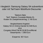 Telekom-Tarif und alternatives Angebot. (Bild: netzwelt)