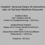 Vodafone-Tarif und alternatives Angebot. (Bild: netzwelt)
