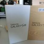 Zum Vergleich: Der Karton des Samsung Galaxy S3. (Bild: netzwelt)