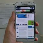 Den ausführlichen Testbericht zum Samsung Galaxy S4 lesen Sie in den nächsten Tagen auf netzwelt. (Bild: netzwelt)