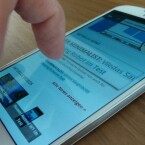 AirView kann auch zum Vergrößern von Text auf einer Webseite genutzt werden. (Bild: netzwelt)