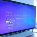Angepasst an den Fernseher: Für den Betrieb des Mini-PCs im Wohnzimmer ist das Software-Design ideal. (Bild: netzwelt)