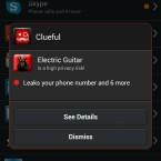 Das Programm warnt vor Apps, die die persönlichen Daten des Nutzers an Dritte übermitteln. (Bild: Bitdefender)