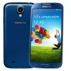 Ab Sommer erhältlich: das Samsung Galaxy S4 in Blue Arctic. (Bild: Samsung)