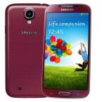 Ebenfalls bald im Handel: das Samsung Galaxy S4 in Red Aurora. (Bild: Samsung)