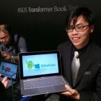 Asus präsentierte das Transformer Book Trio auf der Computex. (Bild: netzwelt)