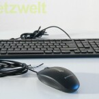 Fürs Wohnzimmer eher ungeeignet, bei gleichzeitiger Nutzung als Bürorechner aber zwingend notwendig: Tastatur und Maus. (Bild: netzwelt)
