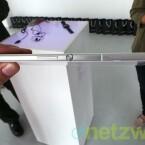 Das Xperia Z Ultra ist nur 6,5 Millimeter dick. (Bild: netzwelt)