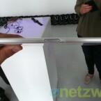 Das Design ist an die Schwestermodelle Xperia Z und Xperia Tablet Z angelehnt. (Bild: netzwelt)