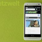 Der Bildschirm des HTC One mini misst in der Diagonale 4,3 Zoll und bietet eine Auflösung von 720p. (Bild: netzwelt)