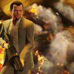 Michael verfügt wie Max Payne über Bullet-Time-Fähigkeiten. (Bild: Rockstar Games)