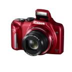 Im Gegensatz zur SX510 HS wird es die SX170 IS auch in Rot geben. (Bild: Canon)