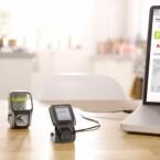 Trainingsdaten können auf dem PC gespeichert oder in diverse Fitness-Portale geladen werden. (Bild: TomTom)