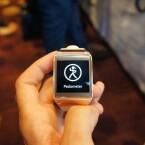 Ein eingebauter Schrittzähler hilft beim Fitnessprogramm. (Bild: netzwelt)