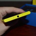 An der Oberseite des Lumia 1020 befindet sich der Klinkenanschluss für Headsets. (Bild: netzwelt)