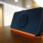 Neben dem Farbmix Schwarz/Orange steht noch eine mintgrüne Alternative bereit. (Bild: netzwelt)