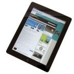 Das ab 2011 erhältliche iPad 2 war deutlich dünner als das iPad 1. Das Modell wird noch heute von Apple vertrieben. (Bild: netzwelt)