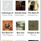 Auf iOS-Geräten werden dabei die Inhalte der Musik-App von Apple gespiegelt, samt Cover-Ansicht. (Bild: Screenshot App)