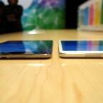 Das Display spiegelt nach wie vor, liefert aber die gleiche Pixeldichte wie das iPad Air. (Bild: netzwelt)
