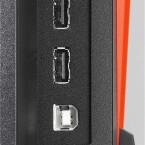An einem USB-Hub fehlt es dem Monitor ebenfalls nicht. Hier kann der Spieler zum Beispiel ein Tastatur und Maus anschließen. (Bild: Eizo)