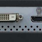 Der FG2421 verfügt über Anschlüsse für HDMI, DVI-D und DisplayPort. (Bild: Eizo)